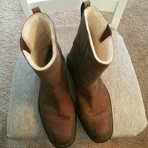 Cole Haan boots.
